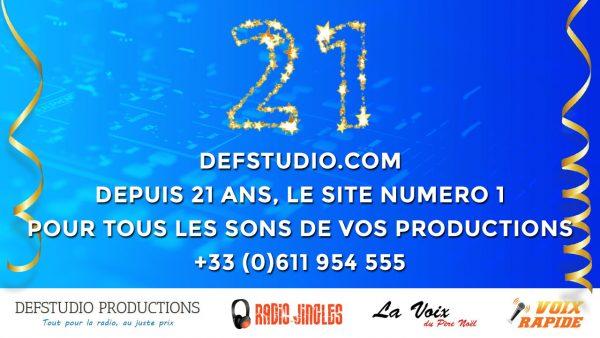 Defstudio.com, depuis 21 ans le site numero 1 pour tous les sons de vos productions