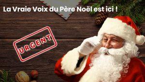 Le Père Noël assure vos urgences !